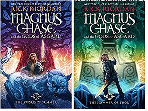 Recently I Have Read Magnus Chase And The Gods Of Asgard Sword Summer Am Currently Reading Book Two